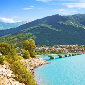 Hautes-Alpes & lac de Serre-Ponçon