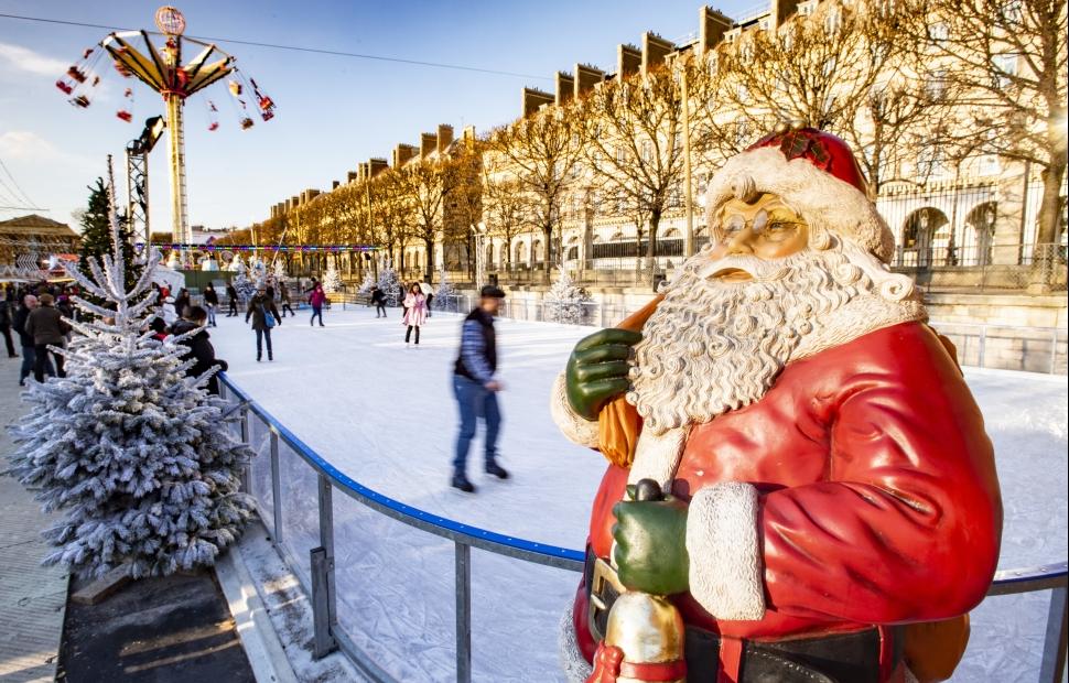 March� de No�l aux jardin des Tuileries � Paris Tourist Office - Photographe C�dric Helsy