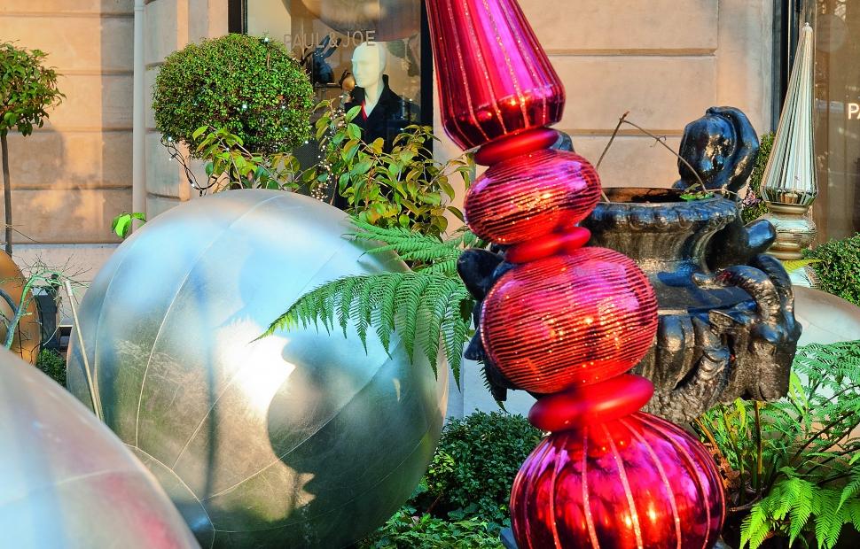 Paris, d�coration de No�l � Paris Tourist Office - Photographe Daniel Thierry