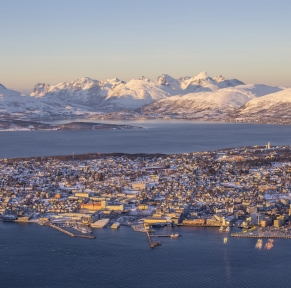 Tromso, la porte norvégienne de l'Arctique polaire