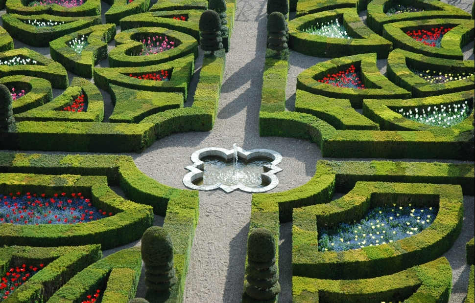 Jardins de Villandry (c) Ch�teau de Villandry