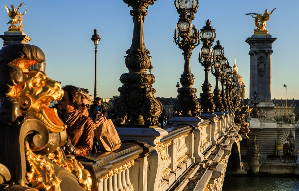 Pont Alexandre III � Paris Tourist Office - Photographe  Marc Bertrand - Pont Alexandre III