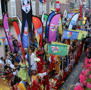 Fête médiévale en Alsace