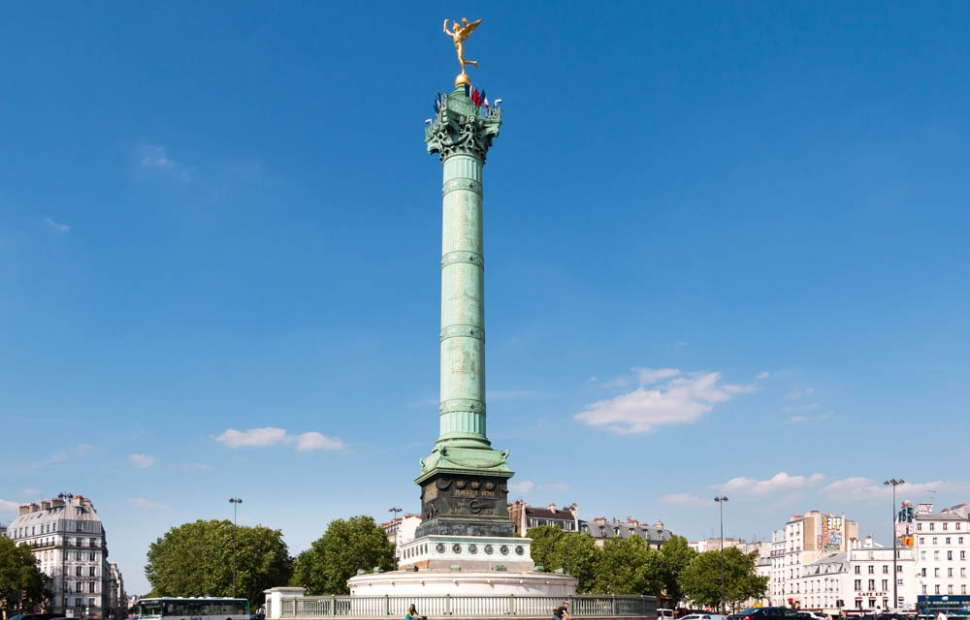 Place de la Bastille � Paris Tourist Office - Sarah Sergent.