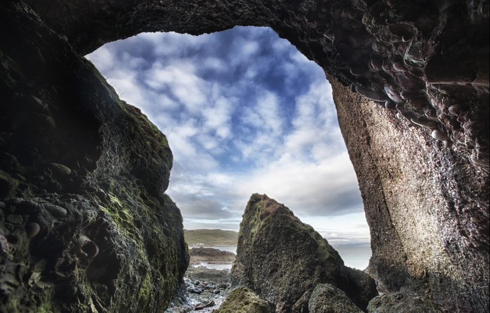 Game of Thrones� - Cushendun Caves~A Cove in the Stormlands