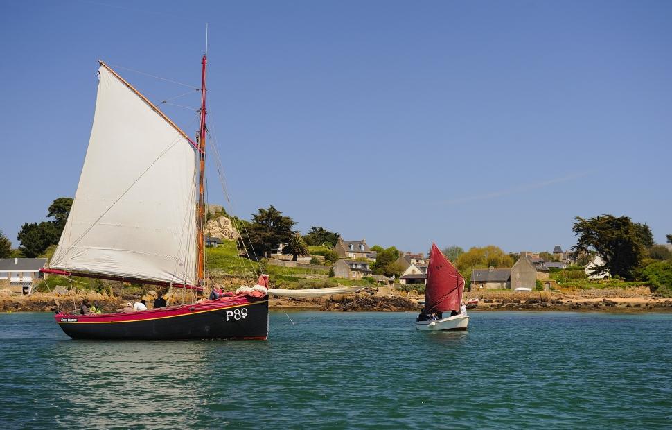 Voiliers traditionnels (c) Tourisme Bretagne - GLADU Ronan