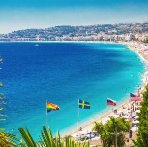 Nice, capitale de la côte d'Azur
