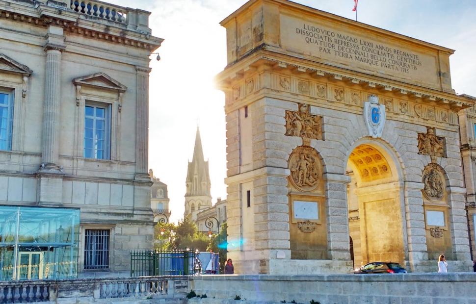 Arc de Triomphe Montpellier � OT Montpellier - M. Remignon