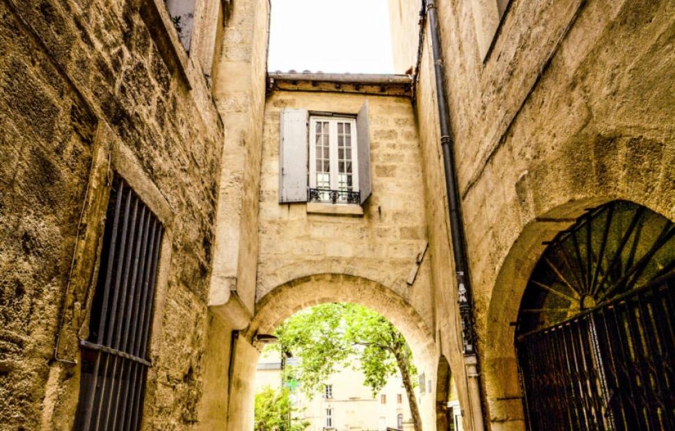 Montpellier, ruelle m�di�vale � OT Montpellier