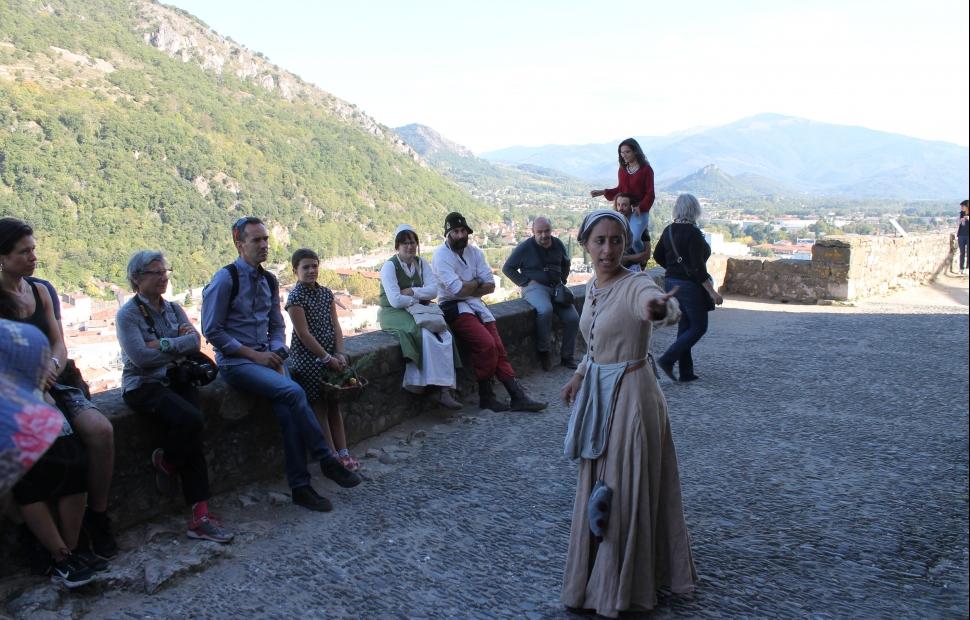 Ch�teau de Foix, Visite costum�e (c) Sites Touristiques Ari�ge - SESTA