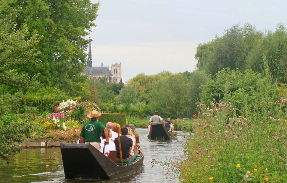 Amiens, hortillonnages �CDT Somme - AB