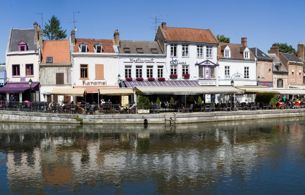 Amiens, quai St-Leu � guitou60 - Fotolia
