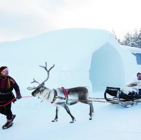 Finlande, légendes boréales à Levi