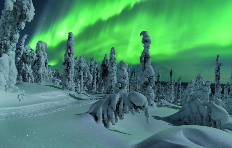 Aurores Bor�ales - Visit Finland