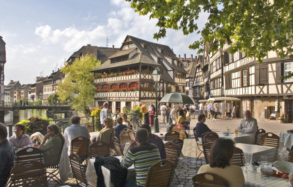 Quartier de la Petite France, Strasbourg � Atout France - Michel Angot.
