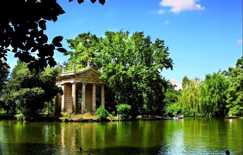 Jardins Villa Borghese (c) VB