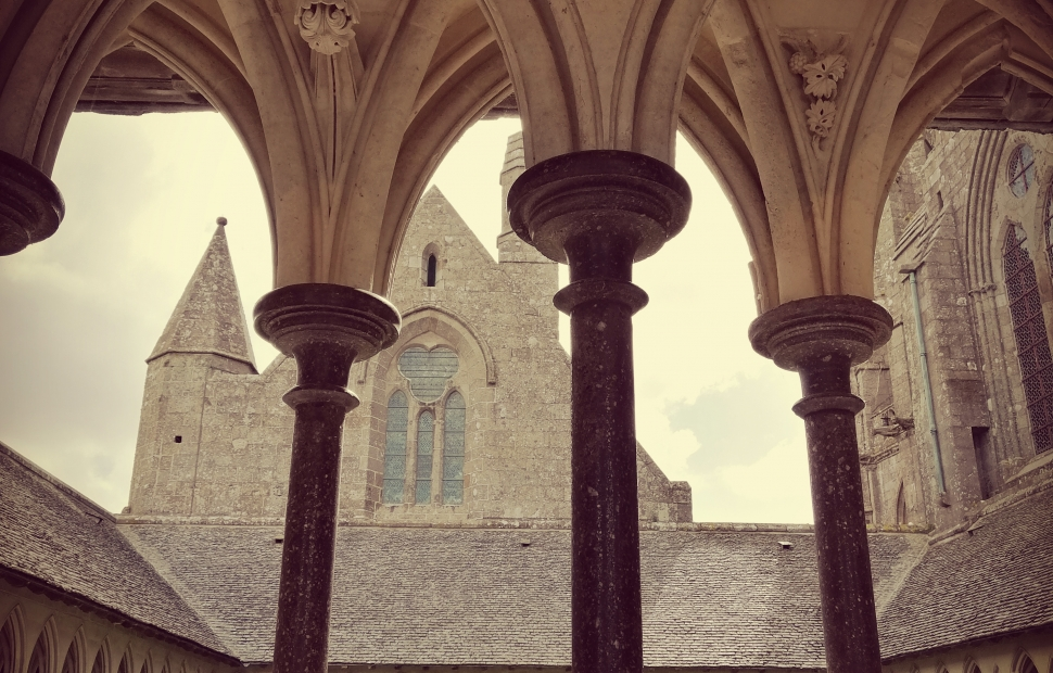 Mont-Saint-Michel, abbaye (c) Raeven G�raldine