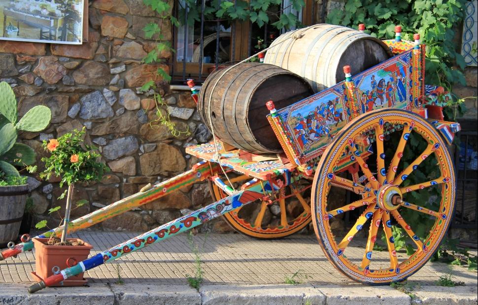 Chariot sicilien (c) Adobe stock