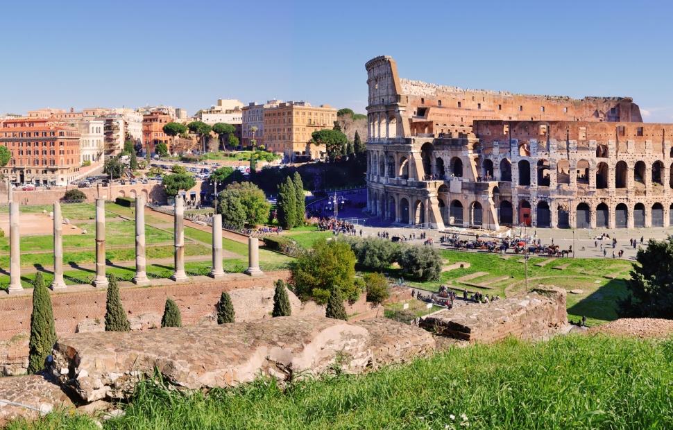 Rome, le Colis�e � Fotolia