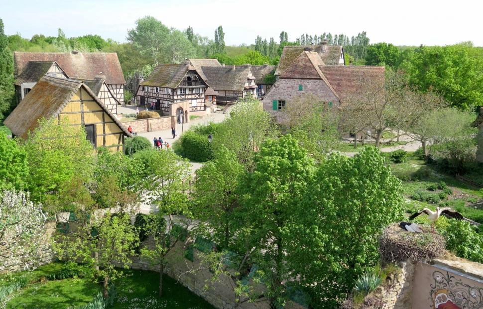 Vue sur l-Ecomus�e d-Alsace-�Ecomus�e d-Alsace