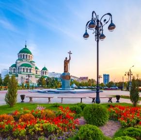 La Volga, croisière d'Astrakhan à Moscou