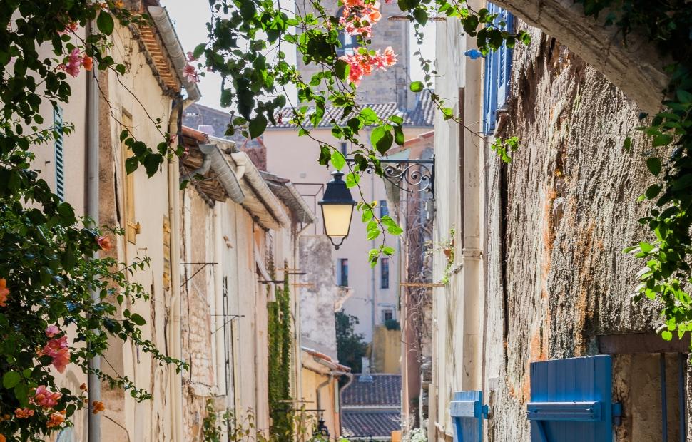 Centre-ville d-Hy�res (c) Sarah Graziani