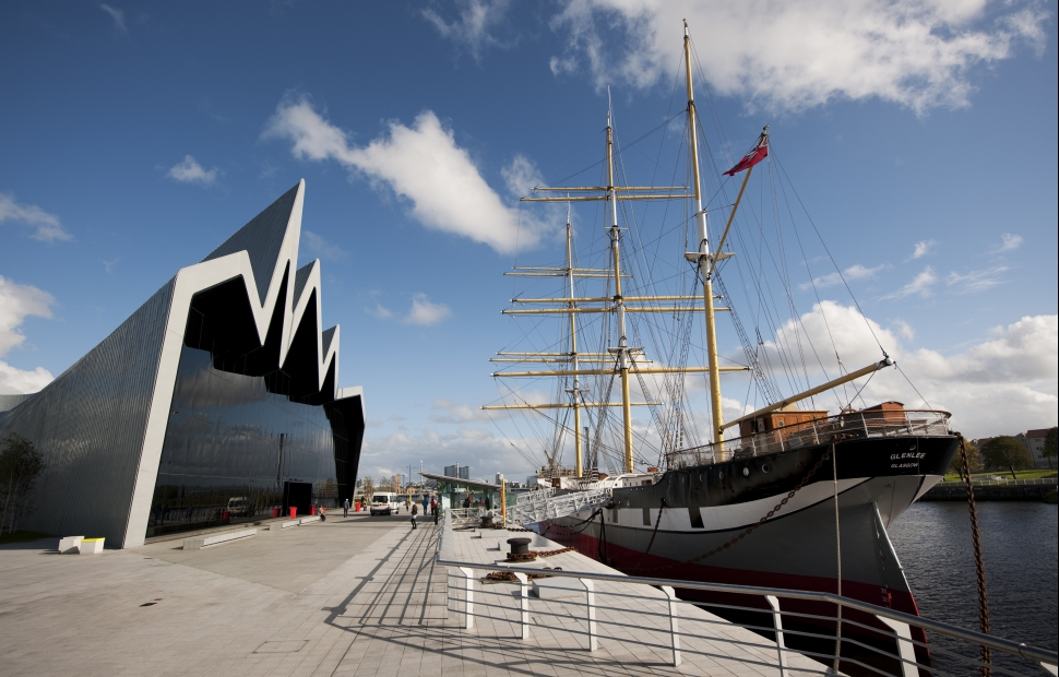 Glasgow, Riverside Museum �VisitBritain Craig Easton