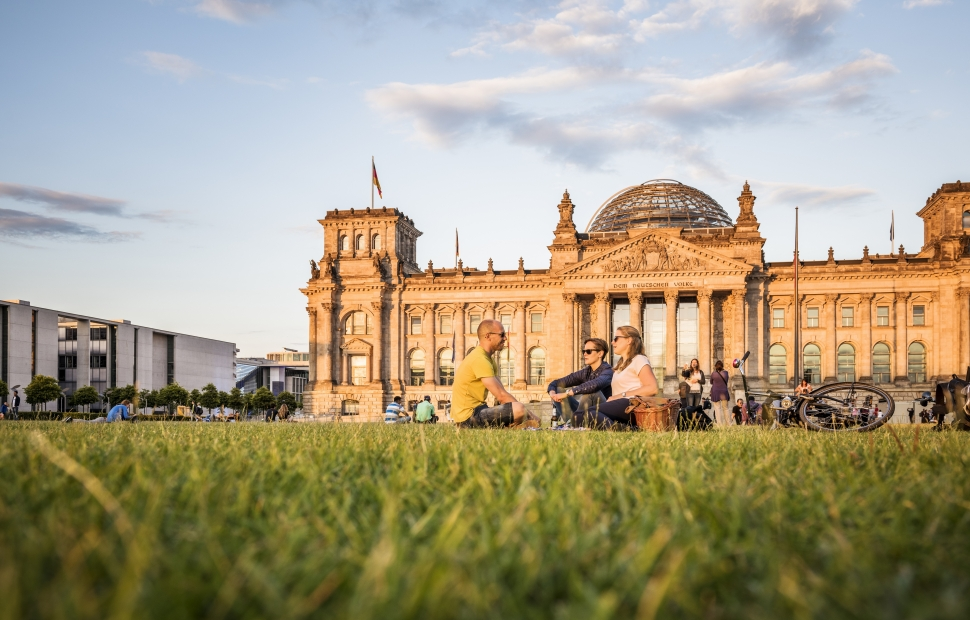 Berlin, le Reichstag (c) visitBerlin - P.Adenis