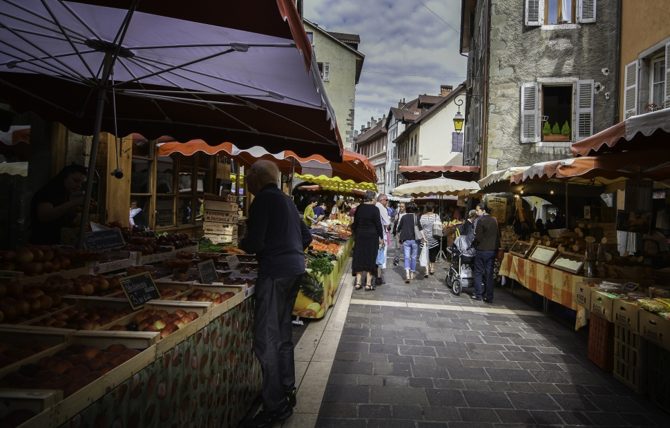 March� d-Annecy (c) �SavoieMontBlanc-Chabance