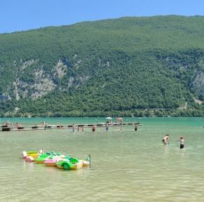 Annecy, les pieds dans l'eau