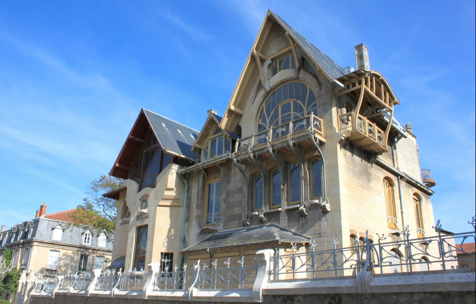 Nancy, villa Majorelle (c) AdobeStock