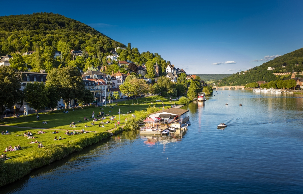 Heidelberg, le Neckar (c) ONAT
