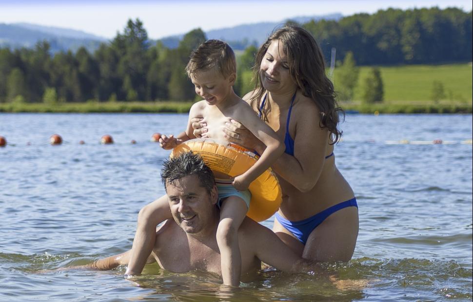 Les Rousses, le lac