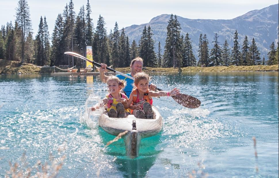 Serfaus, canoe