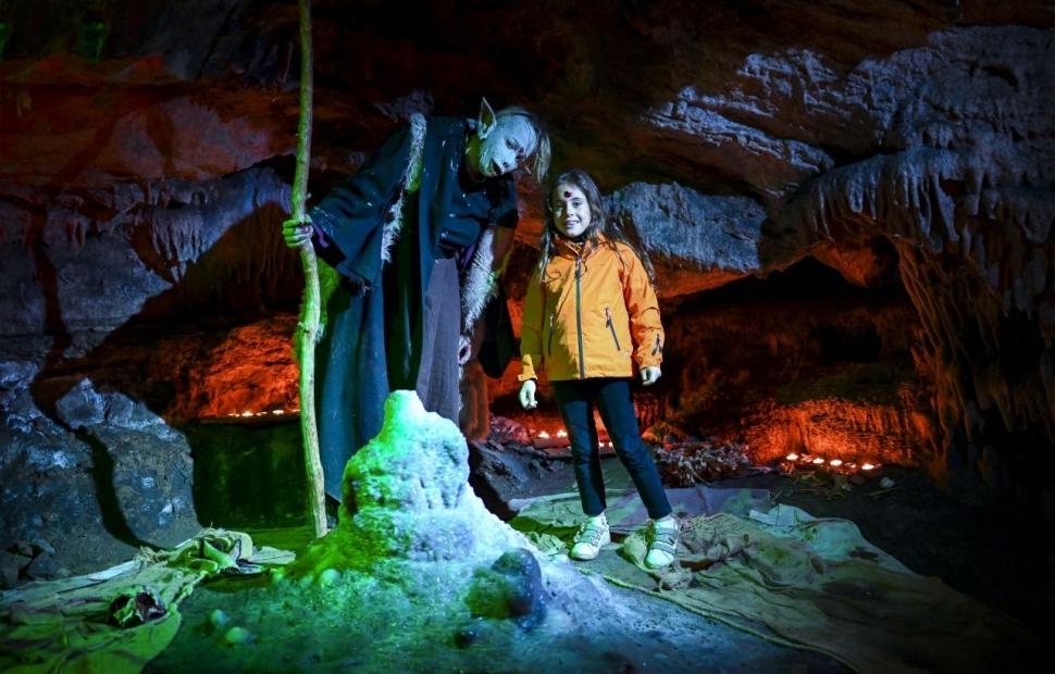 Hanlloween � Domaine des grottes de Han - Martin Dellicour