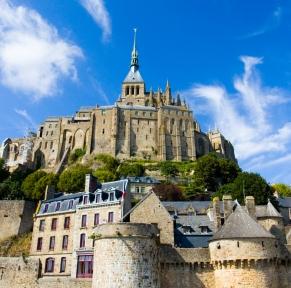 Mont-St-Michel, grande marée