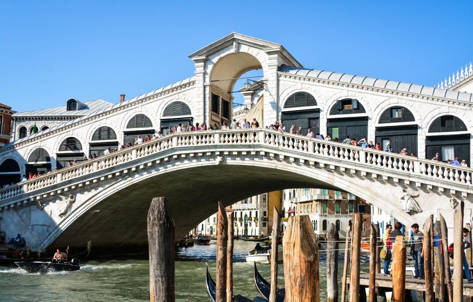 Venise, Pont du Rialto � Stephane Pfleger - Crositek