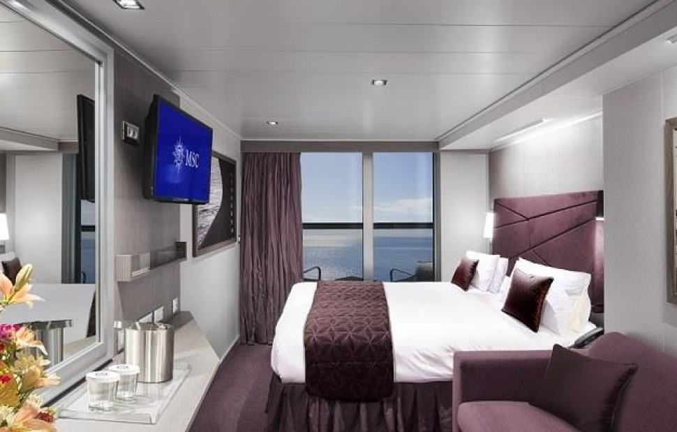 Cabine avec balcon - MSC Seaview � MSC