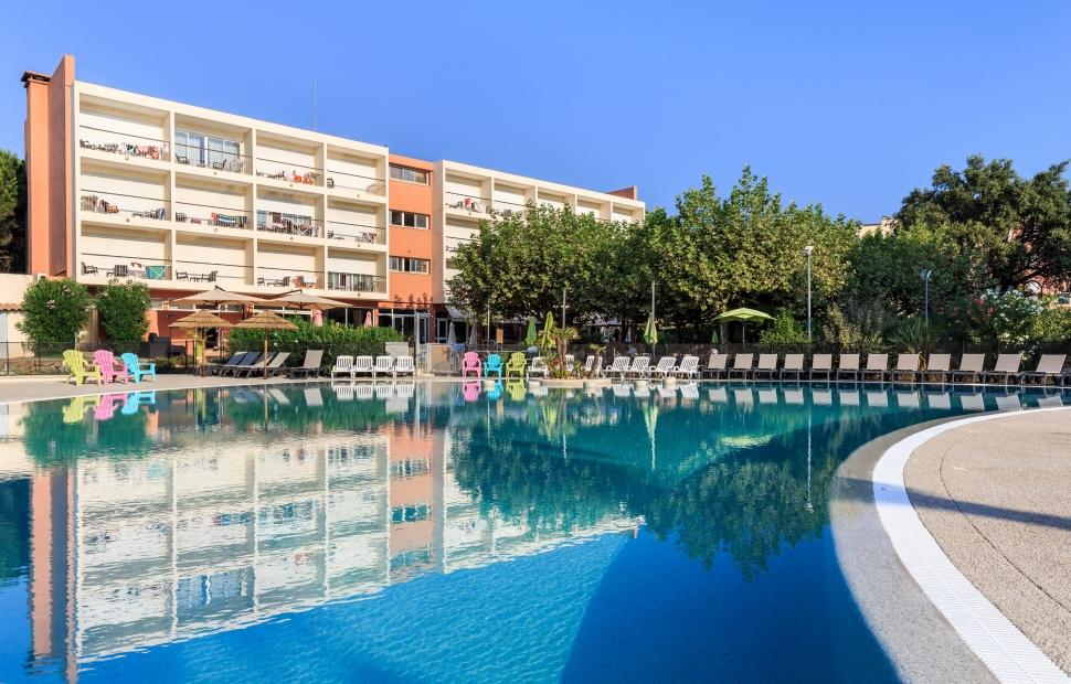 Le Capet, piscine