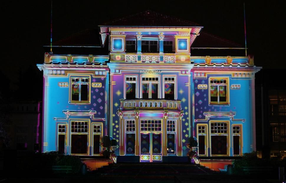 Festival des lumi�res � Copyright Stad Gent