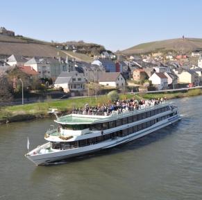 Croisière-déjeuner sur la Moselle et la Petite Suisse luxembourgeoise