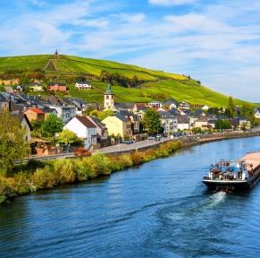 Croisière-déjeuner sur Moselle luxembourgeoise et Luxembourg-ville