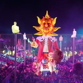 Carnaval sur la Côte d'Azur