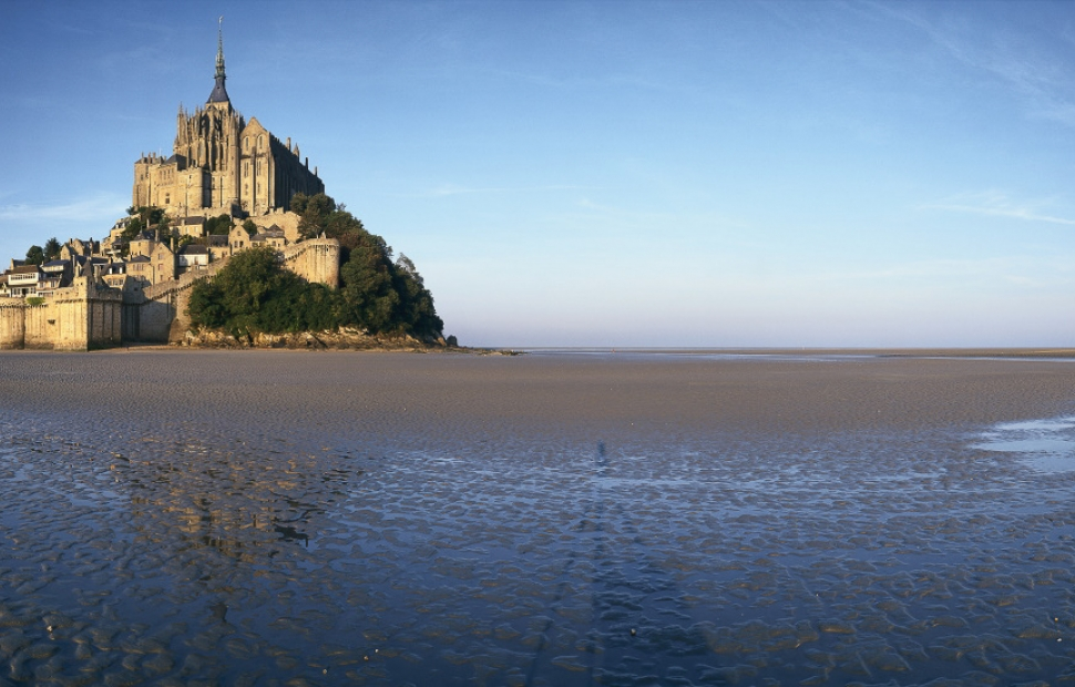 Grande mar e au mont saint michel voyages for Au jardin st michel pontorson france