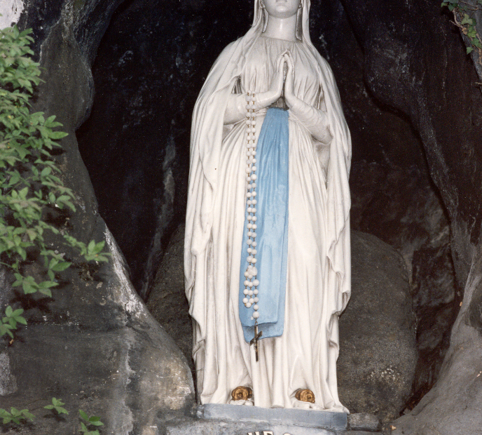 Vierge, Grotte de Lourdes - OT Lourdes - Studio GP Photo