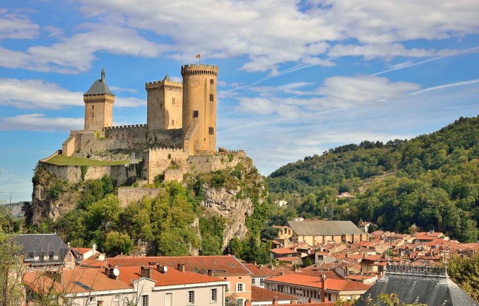 Château de Foix (c) Fotolia_58362199_M�Julien - stock.adobe.com