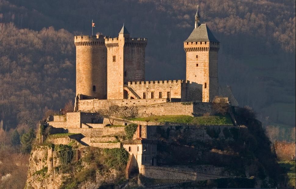 Château de Foix (c) Sites Touristiques AriègeSESTA
