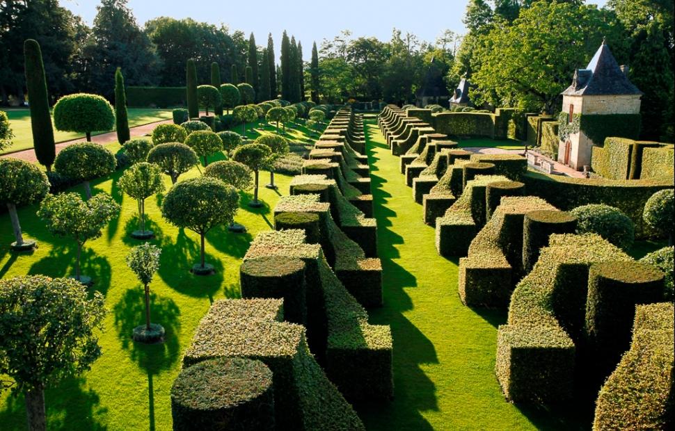 Allée des Charmes du Jardin d'Eyrignac � Eric SANDER� Eric Sander