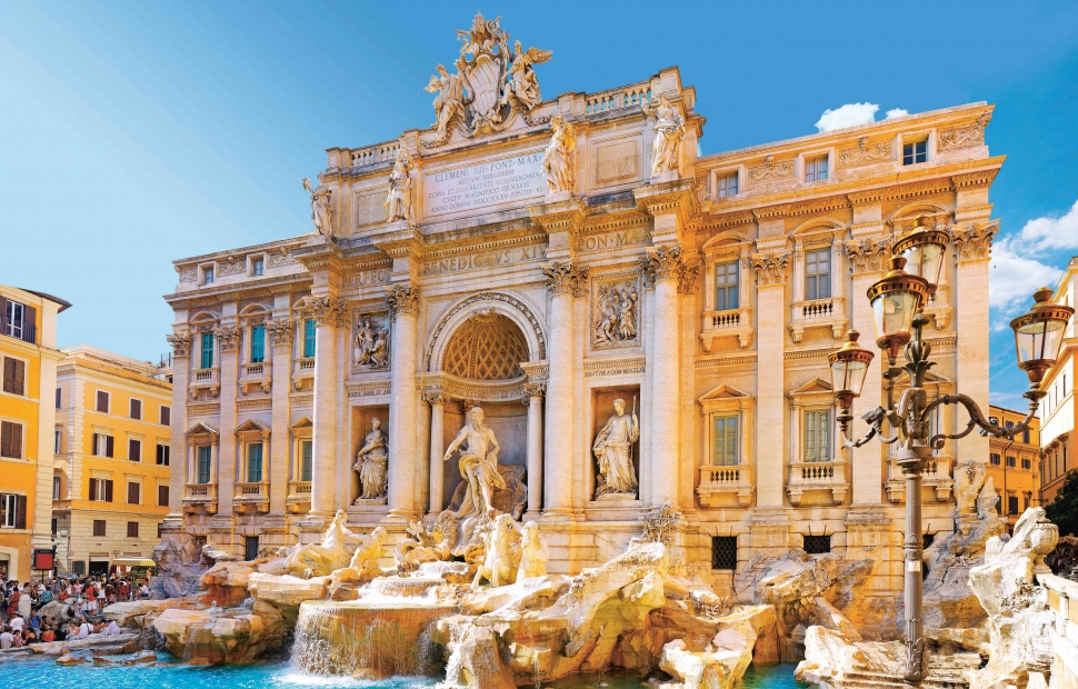 Fontaine Trevi - (c) scaliger - Fotolia