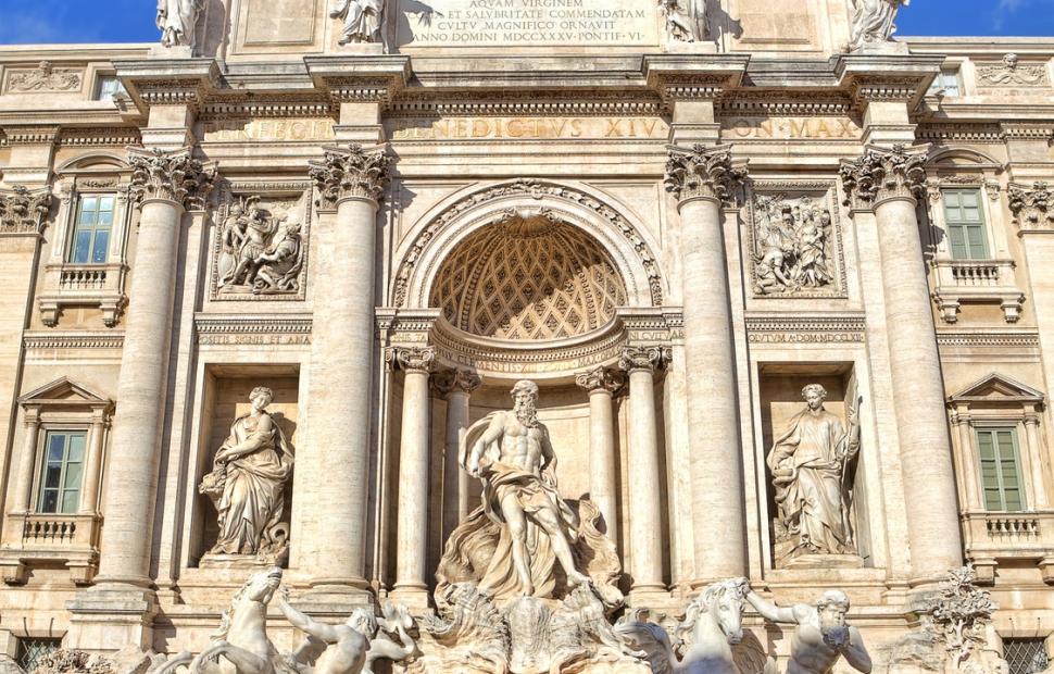 Rome, Fontaine de Trevi � Rostislav Glinsky - Fotolia_78215696_M